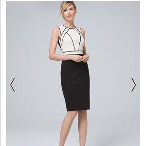 WHBM pencil skirt dress